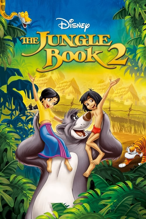 Largescale poster for The Jungle Book 2