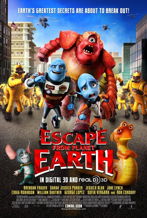 Streaming Escape from Planet Earth (2013) Full Movie