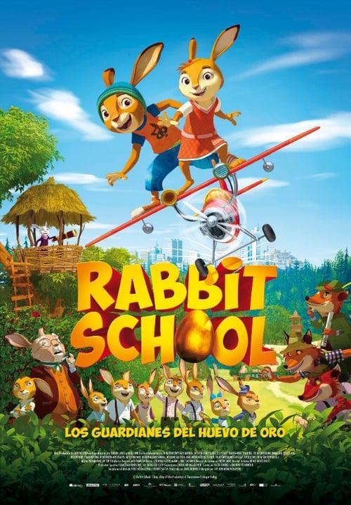 Rabbit School. Los guardianes del huevo de oro [Castellano] [dvdrip] [rhdtv] [hd720]