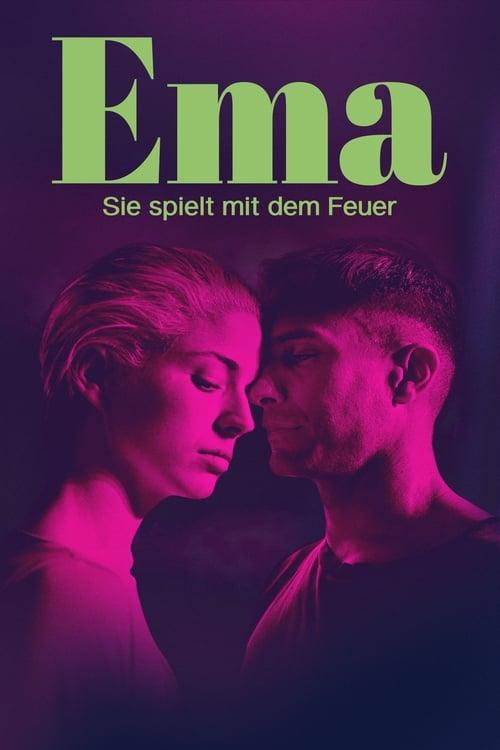Ema - Sie spielt mit dem Feuer - Poster