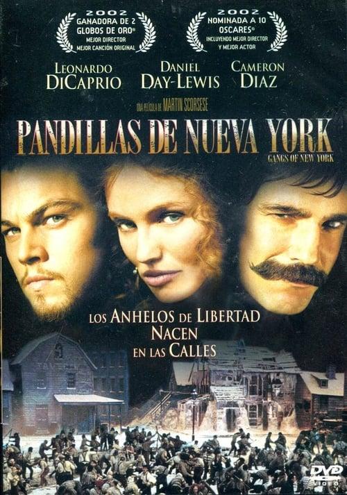 Gangs of New York Peliculas gratis