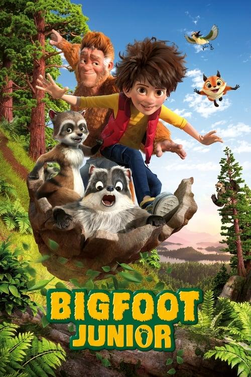 Poster von Bigfoot Junior