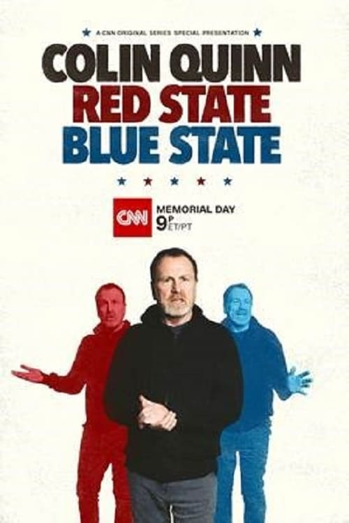 Colin Quinn: Red State, Blue State - Poster