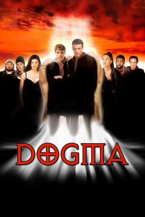 The poster of Dogma