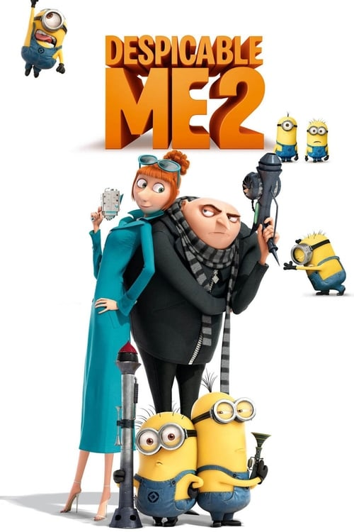 Largescale poster for Despicable Me 2