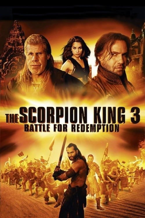 Largescale poster for The Scorpion King 3: Battle for Redemption