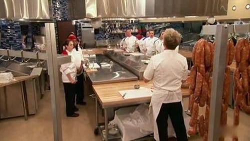 Hell's Kitchen: Season 6 – Épisode 13 Chefs compete
