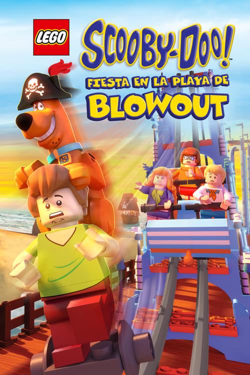 Película Lego Scooby-Doo! Fiesta en la playa de Blowout Gratis En Español