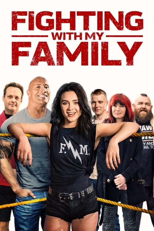 Largescale poster for Fighting with My Family