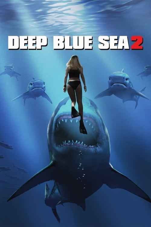 Deep Blue Sea 2 poster