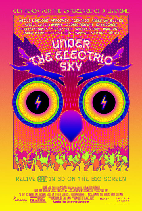 Under the Electric Sky - Poster