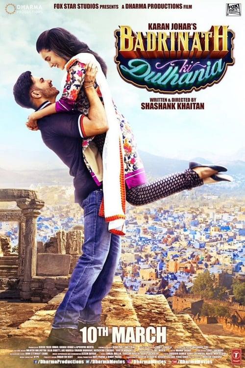 बद्रीनाथ की दुल्हनिया Affiche de film