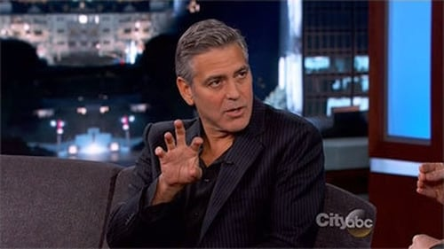 Jimmy Kimmel Live 2014 Streaming: Season 12 – Episode Matt Damon; George Clooney; Bill Murray; Cate Blanchett; Bob Balaban