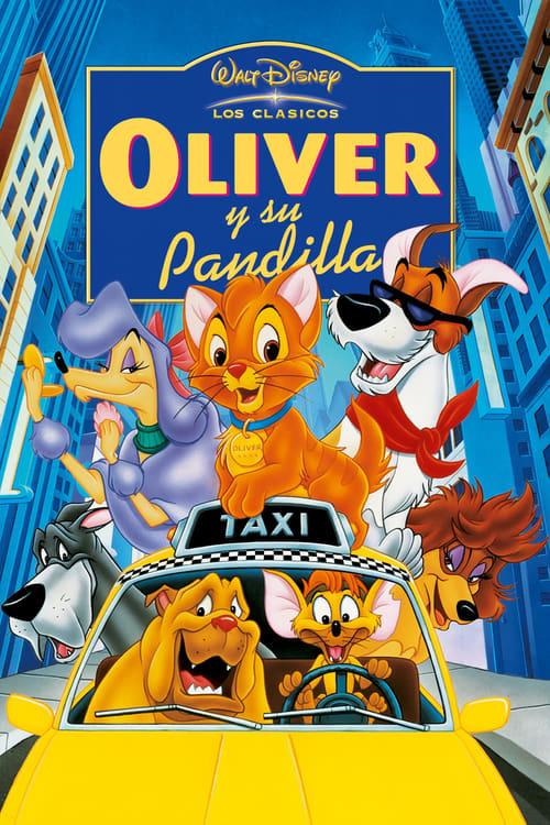 Mira La Película Oliver y su pandilla En Español