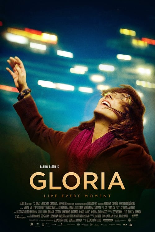 The poster of Gloria