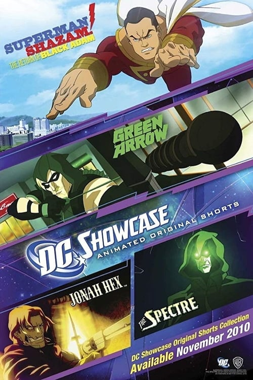 Película DC Showcase Original Shorts Collection En Buena Calidad