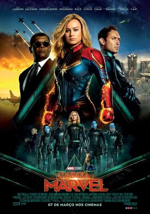 Assistir Capitã Marvel Filme