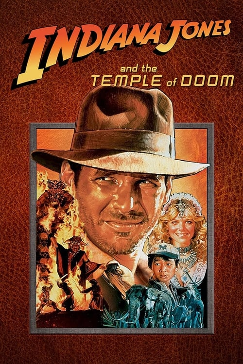 Largescale poster for Indiana Jones and the Temple of Doom
