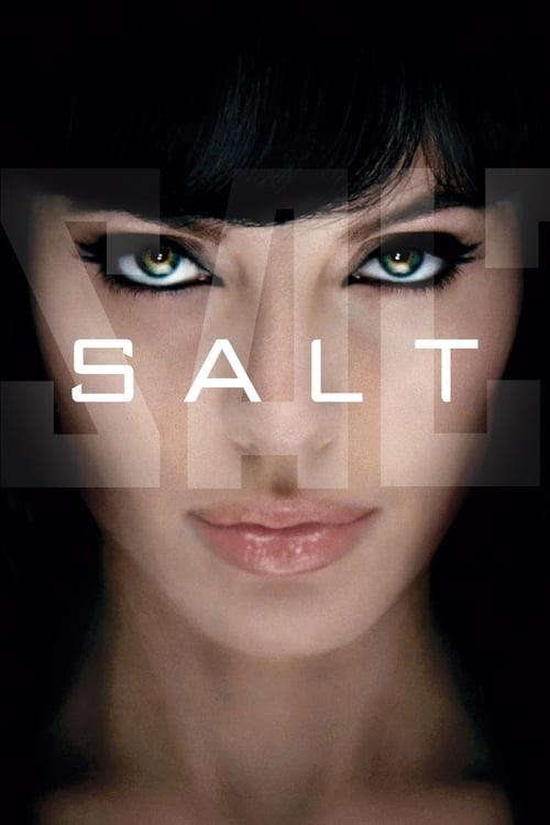 Poster for the movie, 'Salt'