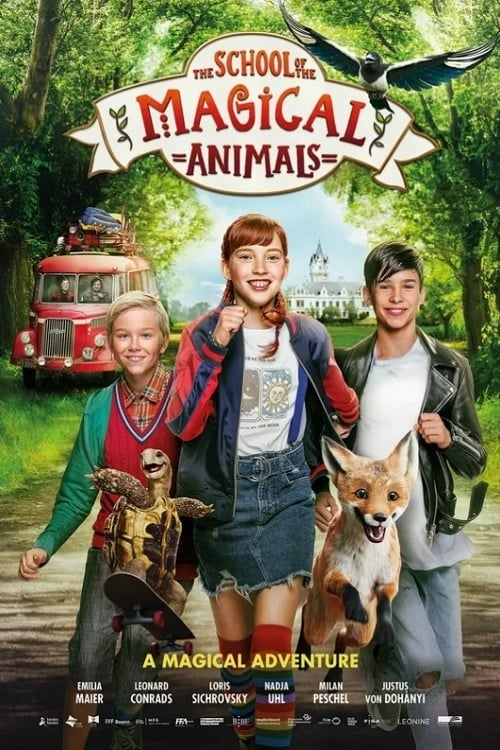 The School of the Magical Animals (2021) Poster
