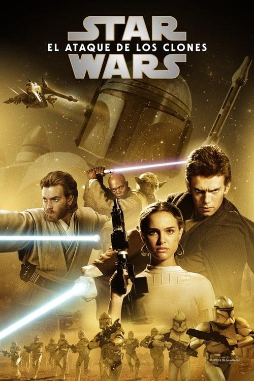 Star Wars: Episode II - Attack of the Clones pelicula completa