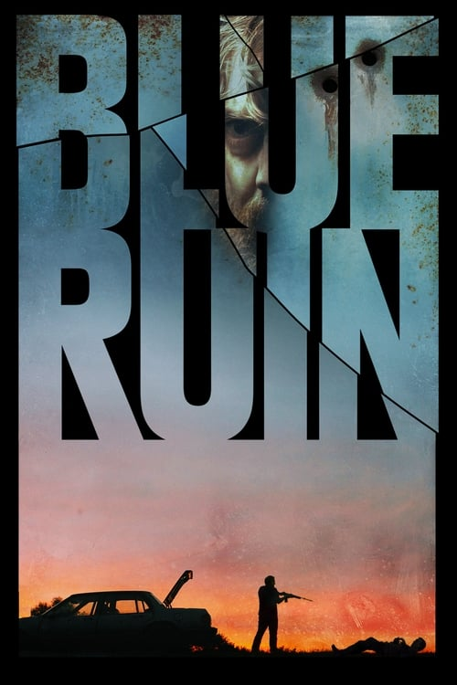 "Movie poster for ""Blue Ruin""."