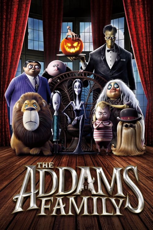 Poster. The Addams Family