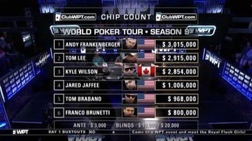 World Poker Tour 2011 Tv Show 300mb: Season 9 – Episode Legends of Poker - Part 1