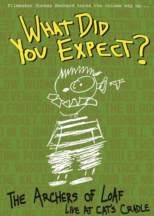 Assistir What Did You Expect: The Archers of Loaf Live at Cat's Cradle Online