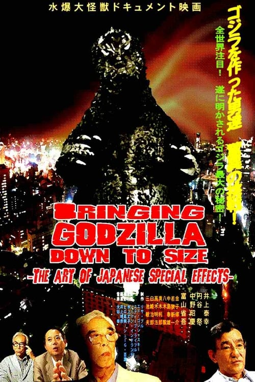 Bringing Godzilla Down to Size: The Art of Japanese Special Effects (2008) Poster