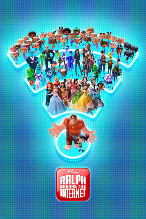 Grootschalige poster van Ralph Breaks the Internet