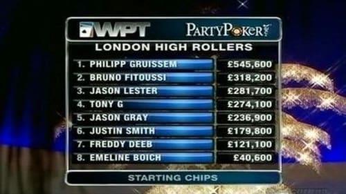 World Poker Tour 2011 Tv Show 300mb: Season 9 – Episode London High Rollers - Part 1
