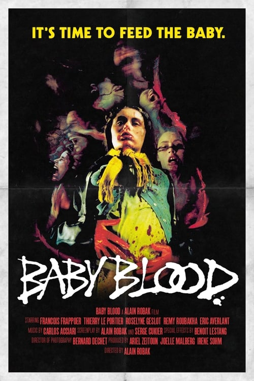 The poster of Baby Blood