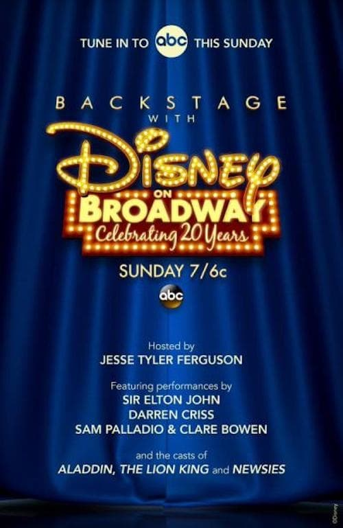 Assistir Backstage With Disney on Broadway: Celebrating 20 Years Duplicado Completo
