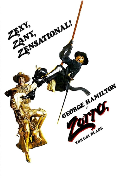 Watch Zorro, The Gay Blade (1981) Movie Free Online