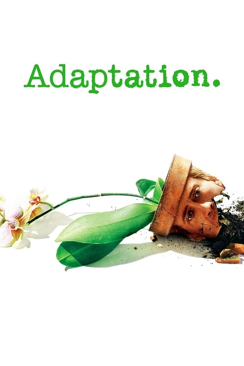 The poster of Adaptation.