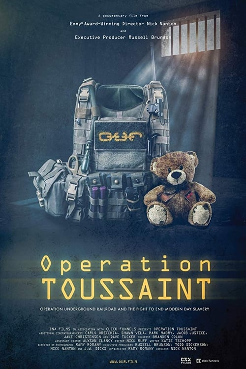 Operation Toussaint: Operation Underground Railroad and the Fight to End Modern Day Slavery Poster