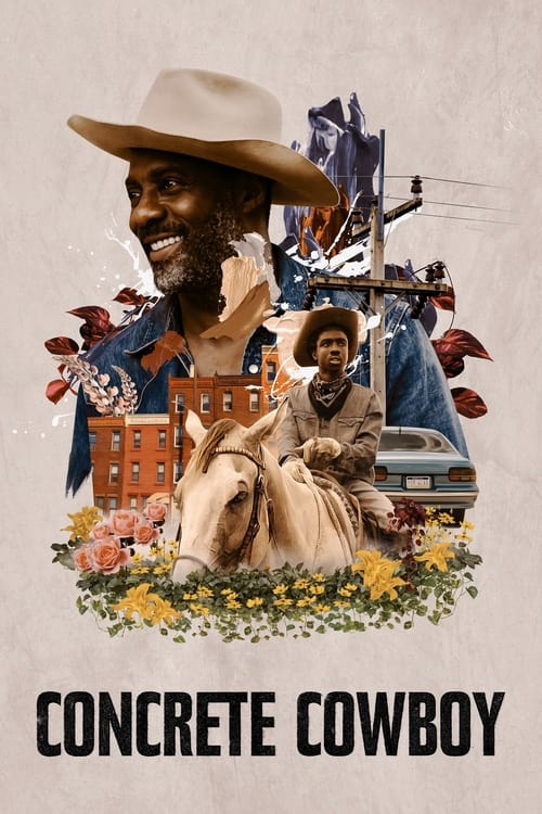 Concrete Cowboy (2020) Poster