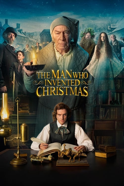 Poster. The Man Who Invented Christmas (2017)