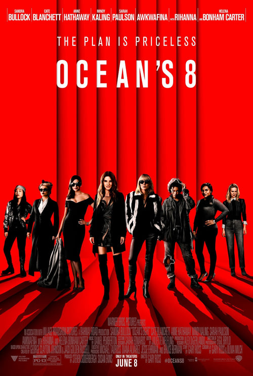 Ocean's 8 Here page found