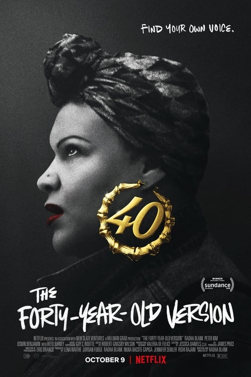 Poster von The Forty-Year-Old Version