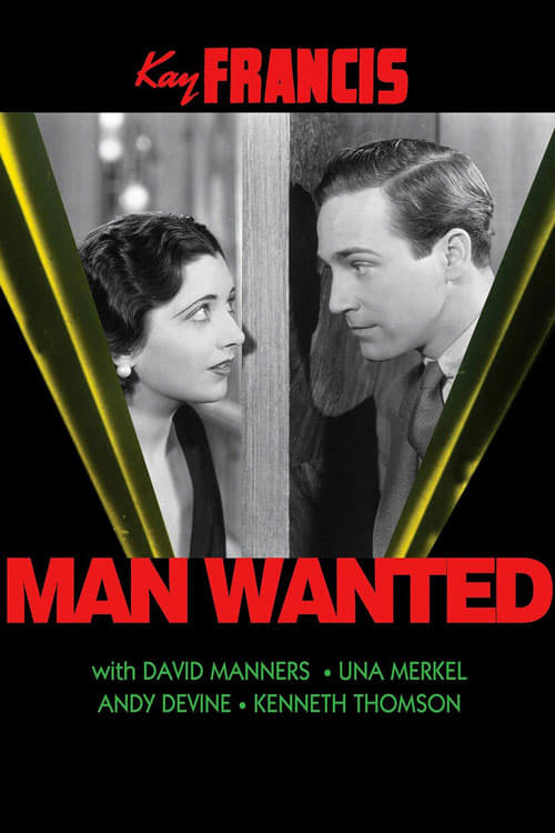 Watch Man Wanted (1932) Best Quality Movie