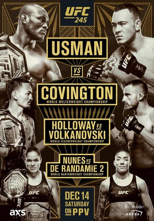 UFC 245: Usman vs. Covington
