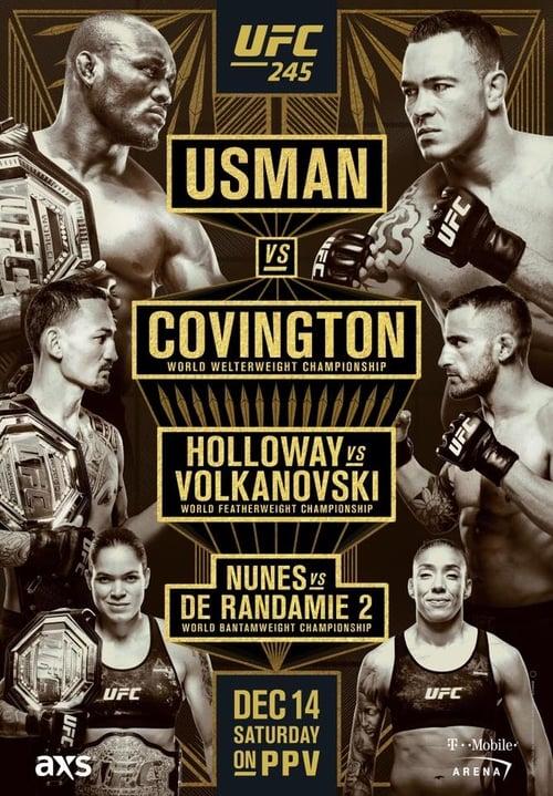 Assistir Filme UFC 245: Usman vs. Covington Dublado Em Português