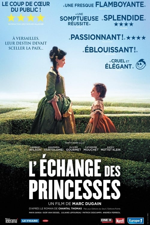 Voir ஜ L'Echange des princesses Film en Streaming HD