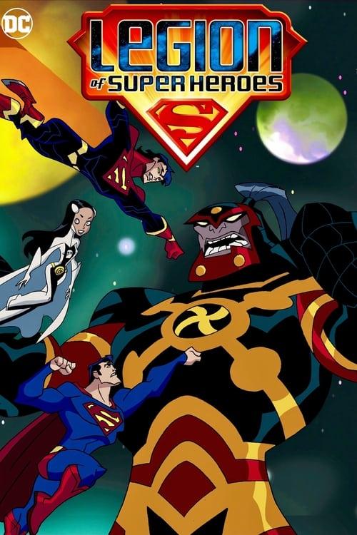 Subtitles Legion of Super Heroes (2006) in English Free Download | 720p BrRip x264