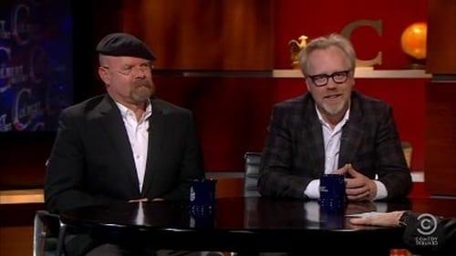 The Colbert Report: Season 7 – Episod Jamie Hyneman and Adam Savage
