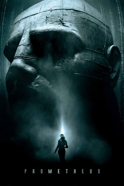 Poster for the movie, 'Prometheus'