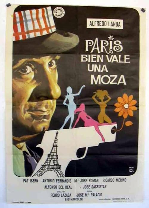 Ver pelicula París bien vale una moza Online