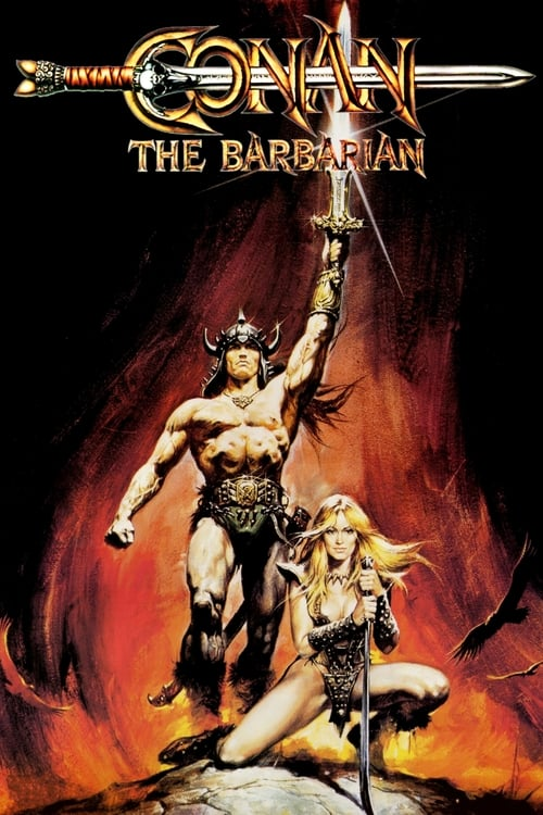 The poster of Conan the Barbarian